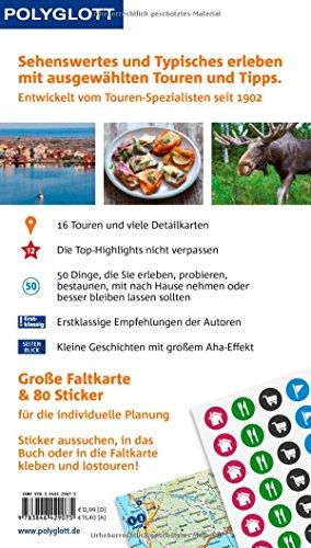 POLYGLOTT on tour Reiseführer Südschweden: Mit großer Faltkarte, 80 Stickern und individueller App: Alle Infos bei Amazon