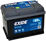 Exide EB602Starterbatterie 60Ah