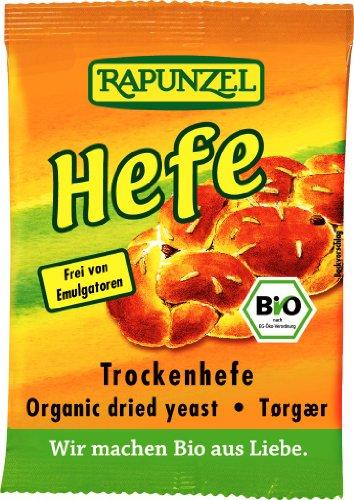 Rapunzel Trockenhefe, 12er Pack (12 x 9g) - Bio