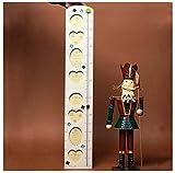 XYLUCKY Wooden Foldable Höhenmessung Growth Rod und Bilderrahmen Dual-use für Kinderzimmer Spielzimmer Mädchen und Jungen Kinderzimmer . a