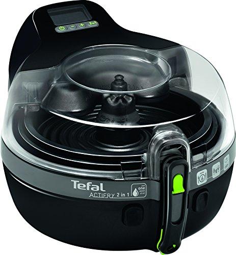 tefal actifry 2 in 1 low fat fryer black. Black Bedroom Furniture Sets. Home Design Ideas