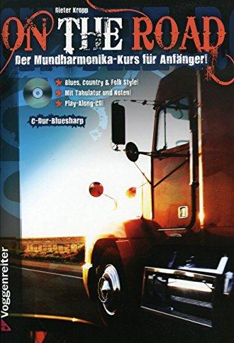 On the road - arrangiert für Mundharmonika - mit CD [Noten / Sheetmusic] Komponist: Kropp Dieter