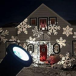 GESIMEI LED Individuare Luci Dinamico Halloween Patterns Interno/ Esterno Impermeabile Prato Proiettore Lampada Giardino Yard Partito Casa Decorazione