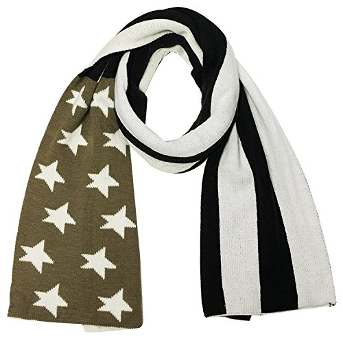 Wrapables Vintage Old Glory American Flag Scarf - Old Glory American Flag