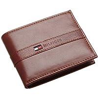 محفظة بني فاتح من تومي هيلفجر - قابلة للطي