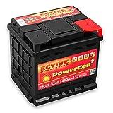 ECTIVE 52Ah 460A EPC-Serie 12V Autobatterie in 8 Varianten: 46Ah - 100Ah (wartungsfrei)