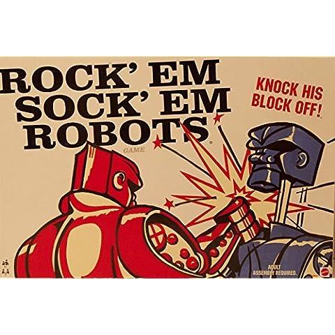 Retro Rockem Sockem Robots Game by Mattel