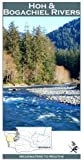Hoh and Bogachiel Rivers 11x17 Fly Fishing Map by Wilderness Adventures Press