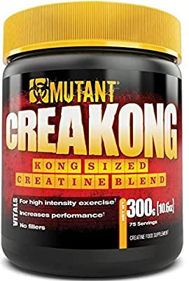 MUTANT CREAKONG, Creatine Supplement and Workout Boost Absorption Accelerator with No Fillers from Mutant