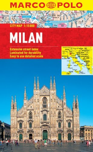 Milan Marco Polo City Map (Marco Polo City Maps) by Marco Polo Travel Publishing (2013-01-01)