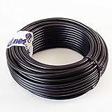25 m (Meterware) Ören HD 103 Sat + BK Hochleistungs- Koaxialkabel für Den Einsatz im Außenbereich Erdkabel UV-stabil 7 mm RG6 (1.0/4.6/6.8) 75 Ohm Class A+ PE schwarz mit Meteraufdruck