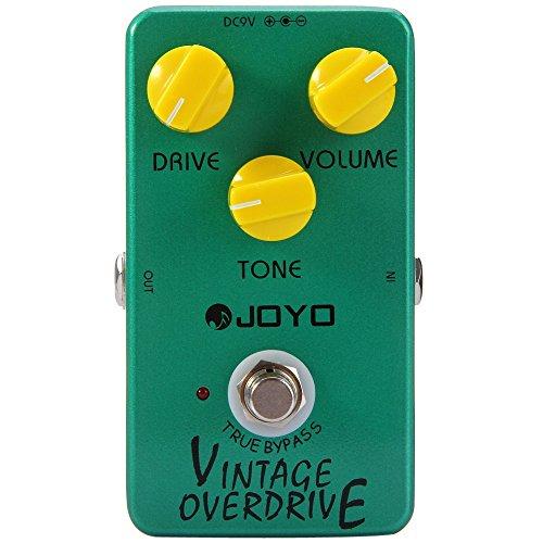 JOYO JF - 01 Puente verdadero de la guitarra Overdrive Diseño de la vendimia del pedal (verde)