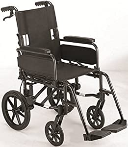 NRS Healthcare Dash Lite Wheelchair Attendant Controlled (Eligible for VAT relief in the UK)