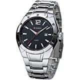 Curren Casual Watch For Men Analog Stainless Steel - 8103