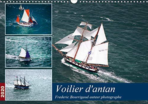 Voiliers d'antan (Calendrier mural 2020 DIN A3 horizontal): Photos aériennes d'anciens voiliers (Calendrier mensuel, 14 Pages ) (Calvendo Mobilite)