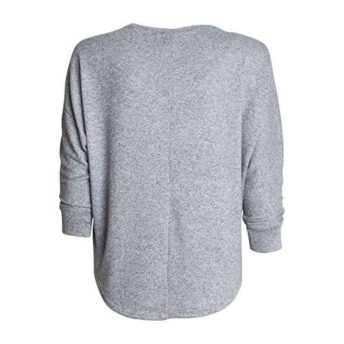 Damen 3/4-Arm Shirt WLS SALUT von Key Largo in den Farben rot und grau Modell Herbst Winter 2017/18 neue Kollektion Grey Mele