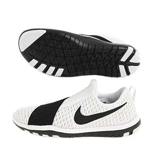 Nike Wmns Free Connect, Chaussures de Gymnastique Femme Blanc Cassé - Blanco (White / Black)