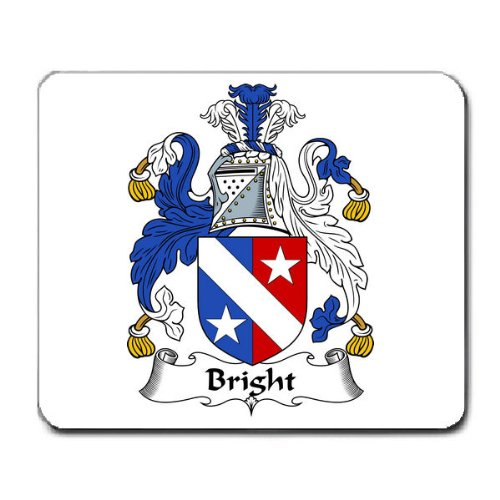 bright-family-crest-coat-of-arms-mouse-pad