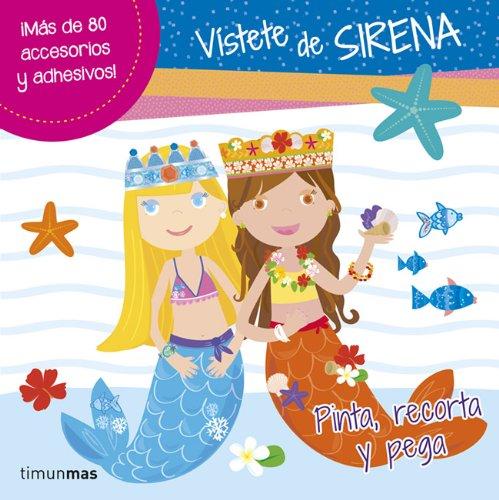 Vístete De Sirena (Libros de actividades)