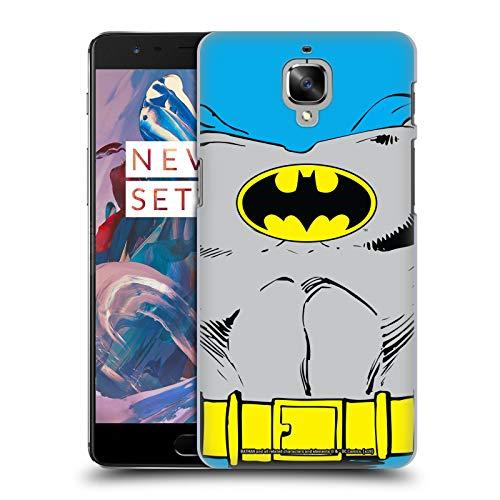 Head Case Designs Offizielle Batman DC Comics Klassische Kostueme Logos Harte Rueckseiten Huelle kompatibel mit OnePlus 3 / 3T