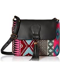 Kanvas Katha Women's Sling Bag (Multicolor) (KKSNJQ038)