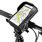 Baonuor Fahrrad Handytasche Wasserdichte Fahrrad Handyhalterung Lenkertasche Universal Bike Halterung für iPhone 6s Plus/6 Plus/Samsung s7 Edge Andere bis zu 6.0 Zoll Smartphones, Navi, GPS, Etc