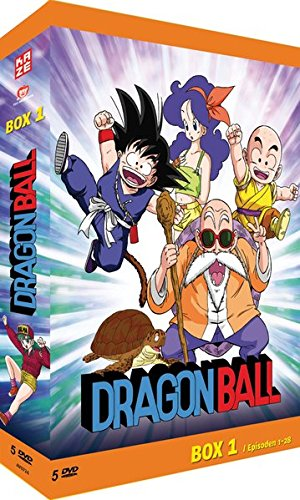 Dragonball - Box 1/6 (Episoden 1-28) [5 DVDs] (Anime-filme-set)