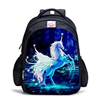 Unicorn School Backpacks, Fantany Fashion Unicorn Rainbow Student Bags
