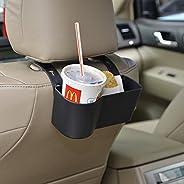 مسند راس السيارة الخلفي المنظم، حامل الكؤوس، علبة طعام يونيفرسال لتحرير يديك لقضاء وقت اكثر راحة داخل سيارتك (