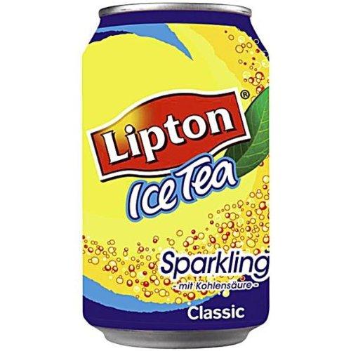 NDT24 Lipton Ice Tea Sparkling 330 ml. Dose 72 x 33 cl - Tee-orange Lipton