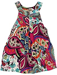 Vestido Niñas, K-youth® Linda Bohemia Ropa Bebe Niña Verano Elegante Vestido de princesa Sin mangas Floral Impresión Vestido para Niñas Vestidos Bebe Niña Vestidos Niña Playa