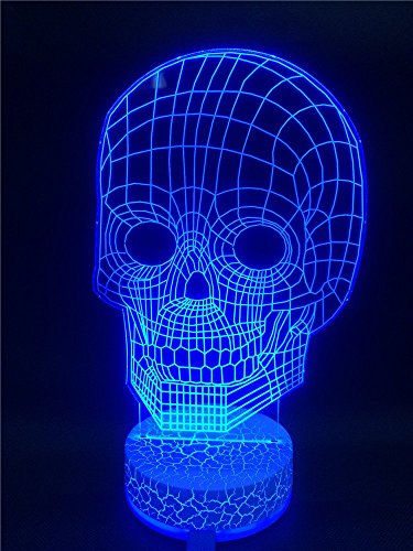 Happy-Fd-3D-Illusion-Light-LED-Table-Lamp-3D-Skull-Base-Synchronous-Glow-Table-Lamp-Children-Night-Light-USB-Powered-Kids-Room-Art-Sculpture-Lights-Produces-Unique-Lighting-Effects-and-3d-Visualizatio