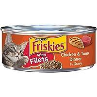 فريسكيس طعام للقطة ، دجاج وتونة