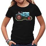 Traktoren Kinder T-Shirt - Traktor Eicher by Im-Shirt - Schwarz Kinder 9-11 Jahre