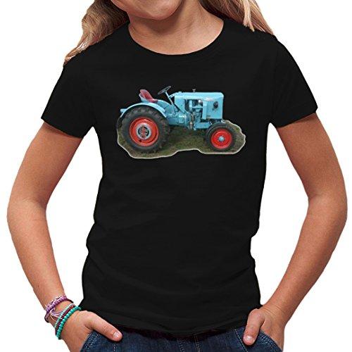 Im-Shirt Traktoren Kinder T Traktor Eicher by Schwarz Kinder 3-4 Jahre