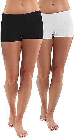 iloveSIA® Femme Short de Sport Confortable Shorty Fille Short de Danse sous Robe élastique multiusage