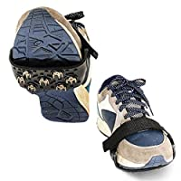 TriLance Crampons Non-slip Shoe Cover, Non-slip Shoe Cover for Walking on Snow for Ice Spikes Hiking Camping Moutaineering