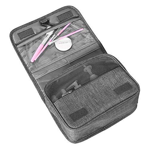 Beauty Case da Viaggio Mreechan, borsa da viaggio con maniglia per il trasporto, borsa per il lavaggio portatile, custodia per appendere, può essere appesa nella borsa da bagno per uomo e donna