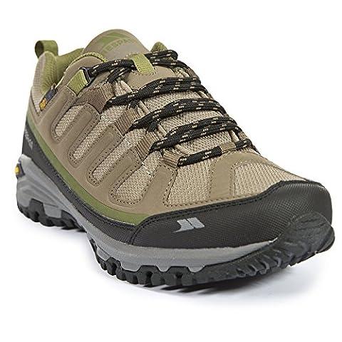 Trespass Carnegie, Women's Low Rise Hiking Shoes, Brown (Brindle/Sage), 8 UK (41 EU)