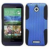 Mybat asmyna Coque HTC Desire 510astronoot Téléphone Coque de Protection–Emballage individuel–Noir/Bleu
