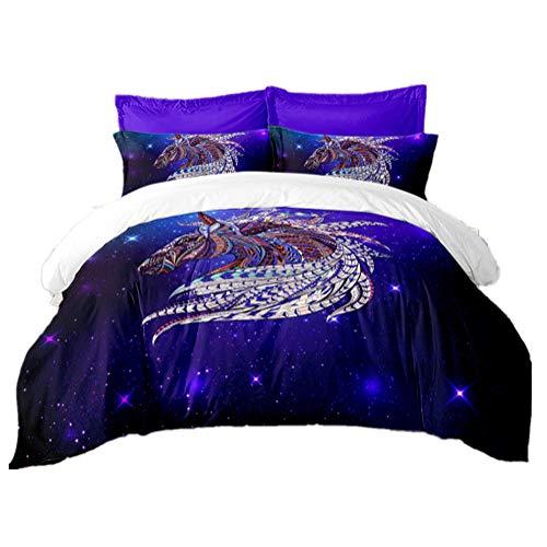 Moda Galaxia Impresión 3 Piezas Sets Funda Nórdica