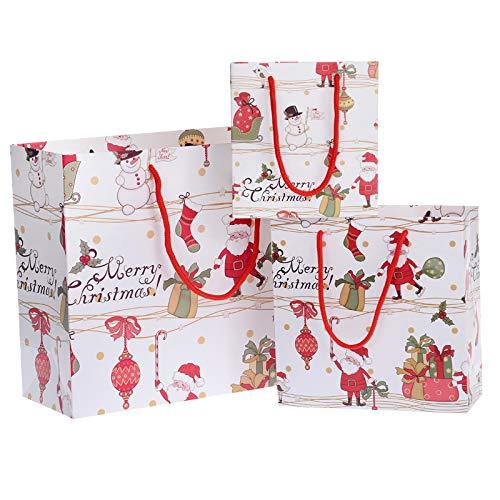 MKILJNH Ausgezeichnet Exquisite Weihnachtsgeschenk Tasche für Geschenk Verpackung schöne Dekoration