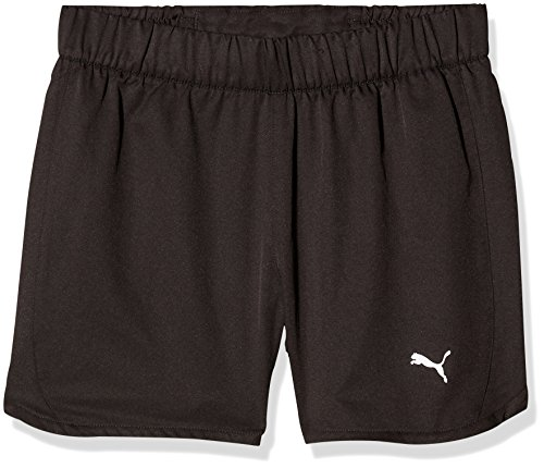 PUMA Kinder Rapid Woven Shorts, Puma Black, 164 (Mesh-mädchen-shorts)