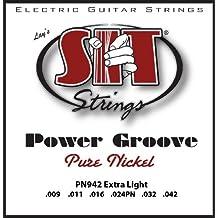 SIT PN942 - Juego de cuerdas para guitarra eléctrica de níquel