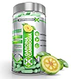 Pure Garcinia Cambogia - Highest Strength Diet Pills! Clinically Proven Fat Blocker & Appetite Suppressant (60 Capsules | 1 Month Supply) Satisfaction Guaranteed! from BioPharm-X