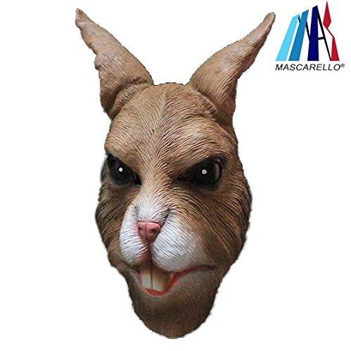 MASCARELLO Conejo máscara látex Toda máscara Animal