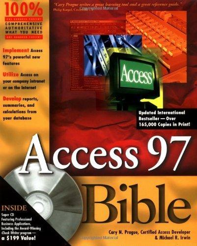 access-97-bible-by-cary-n-prague-20-jan-1997-paperback