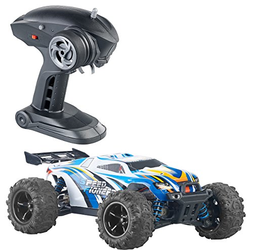 Simulus Monstertruck: Ferngesteuertes Auto mit Allrad-Antrieb, 2,4-GHz-Funk, bis 40 km/h (RC Cars)