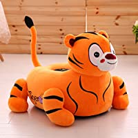 Preisvergleich für MAXYOYO Super Niedlicher Tiger/Löwe Kuscheltier Bean Bag Sessel, Tiger/Löwe Sofa Sitz für Jugendliche/Kleinkinder/Baby, Geburtstag Geschenk für Kinder Tiger
