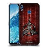 Head Case Designs Officiel Star Trek Empire Klingon Insignes Étui Coque en Gel Molle pour Huawei Honor 8X Max
